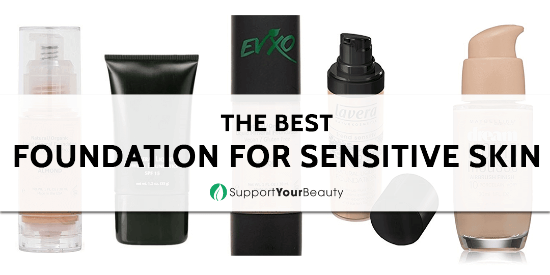 Best Foundation for Sensitive Skin