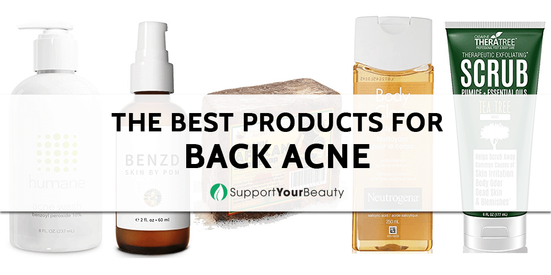 Best Products for Back Acne