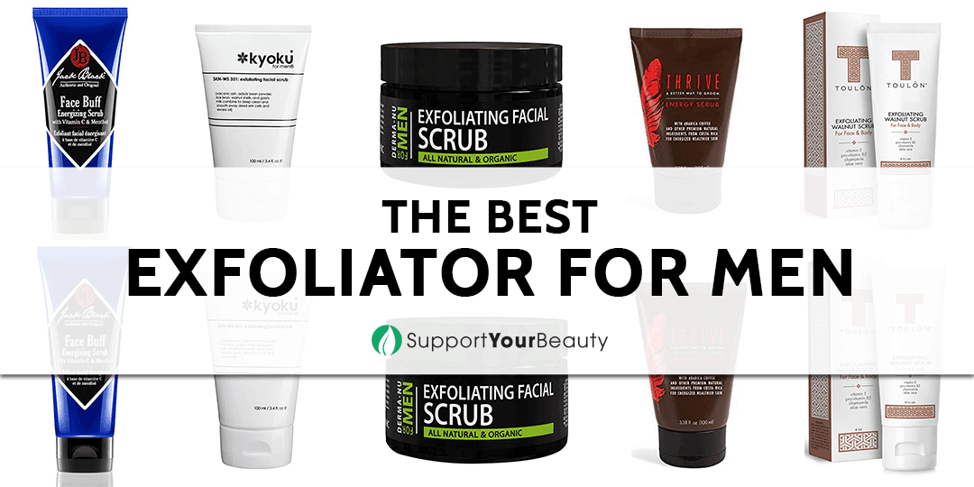 The Best Exfoliator For Men