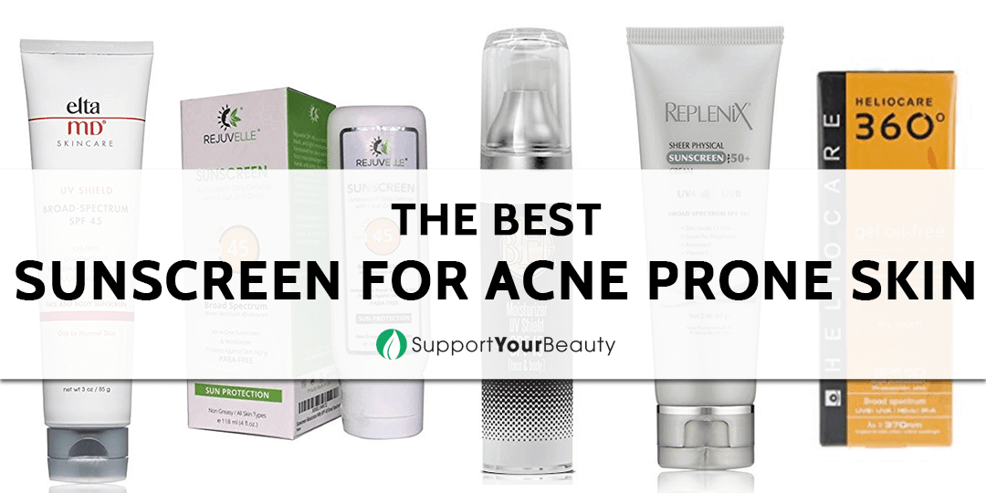The Best Sunscreen for Acne Prone Skin