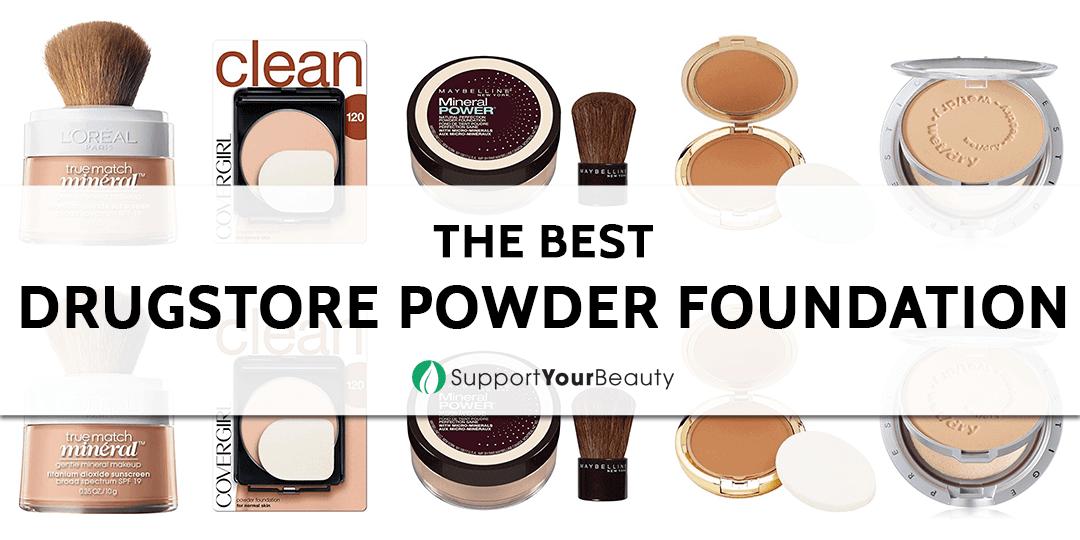 Best Drugstore Powder Foundation