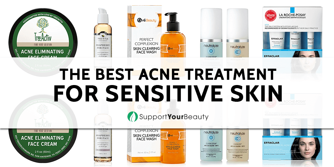 The Best Acne Treatment For Sensitive Skin