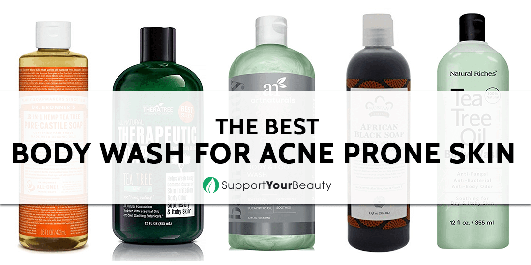 The Best Body Wash For Acne Prone Skin