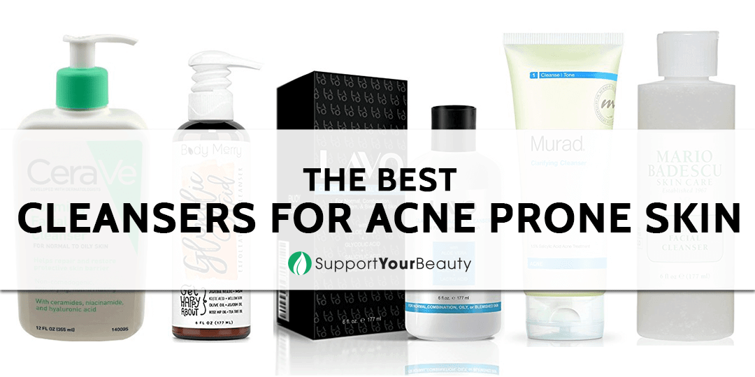 The Best Cleansers For Acne Prone Skin