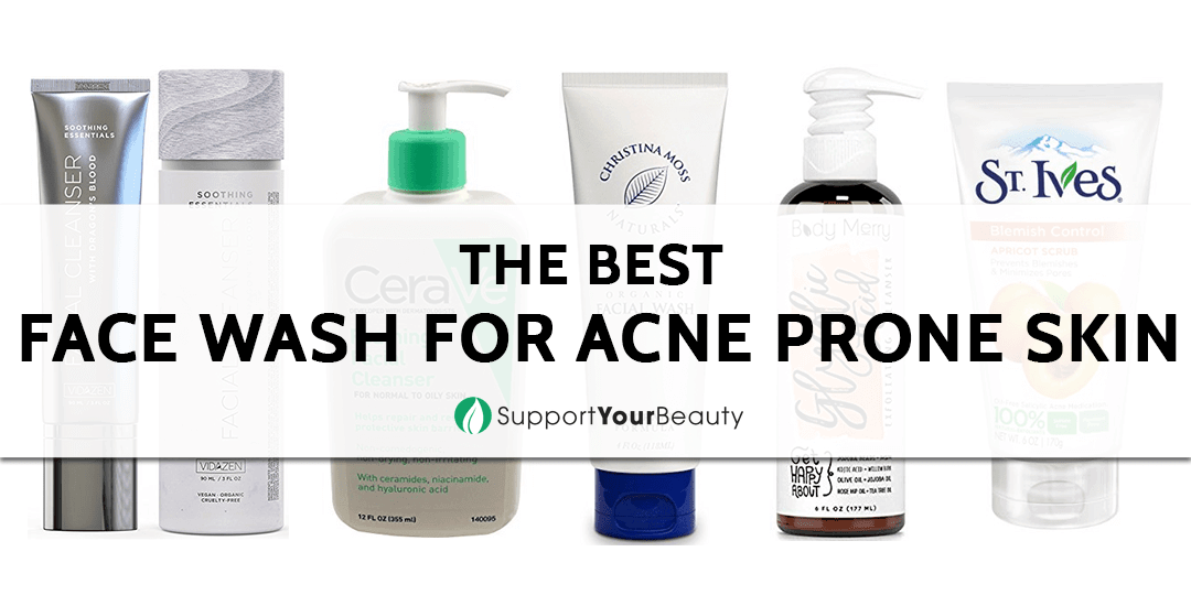 The Best Face Wash For Acne Prone Skin