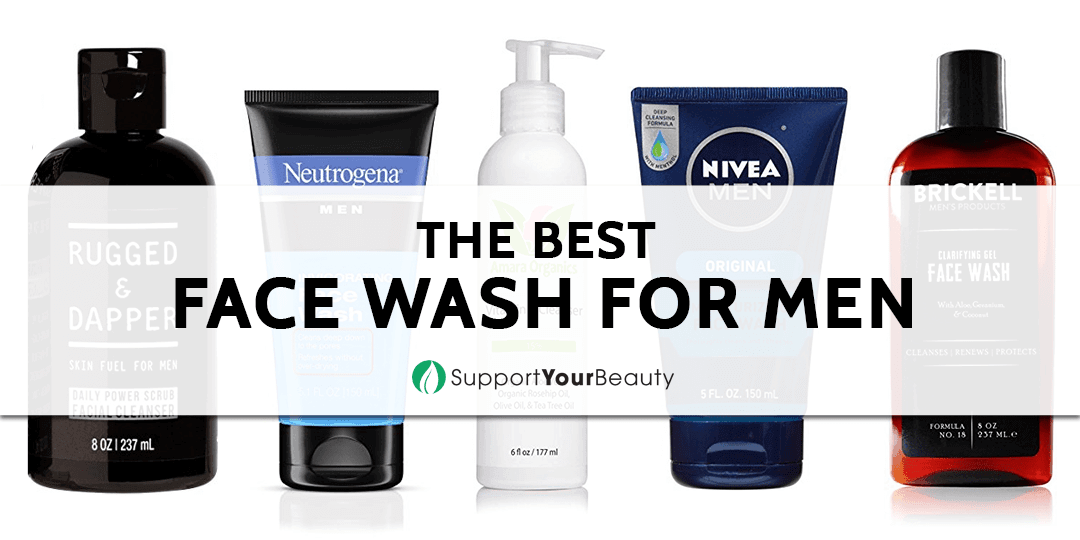 The Best Face Wash for Men