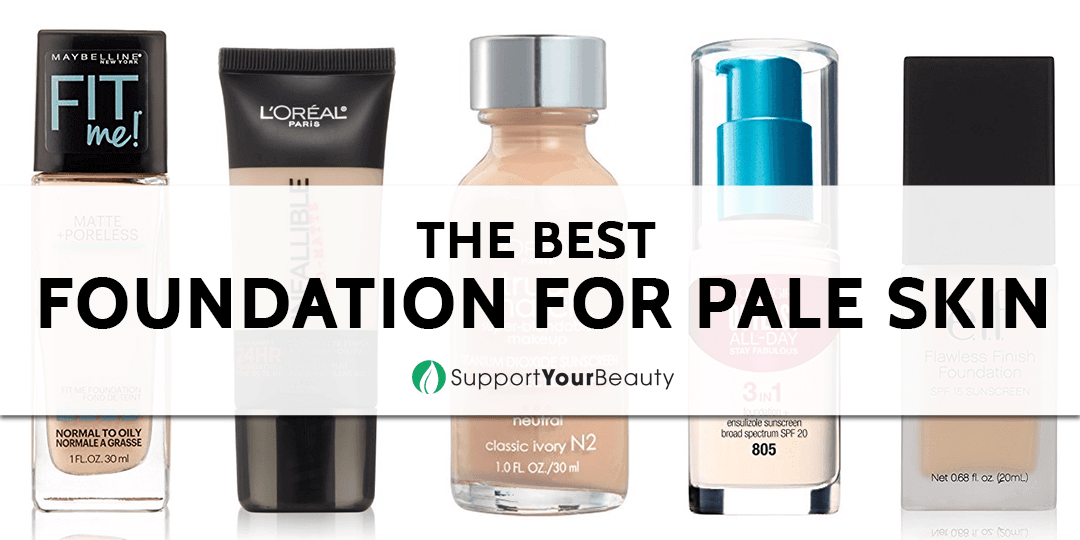 The Best Foundation for Pale Skin