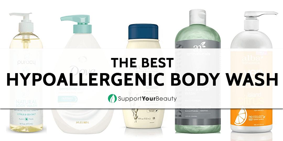 The Best Hypoallergenic Body Wash