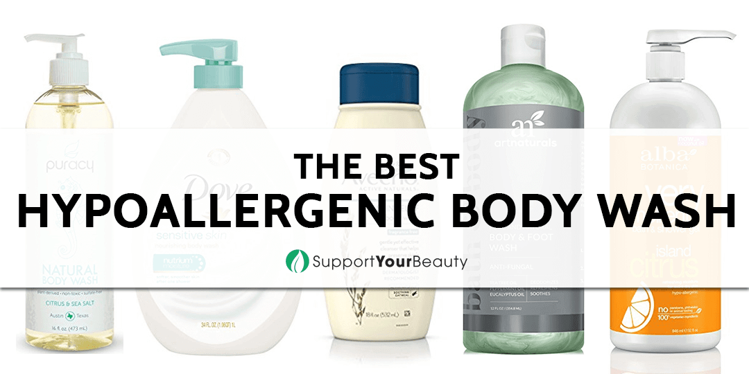 The Best Hypoallergenic Body Wash