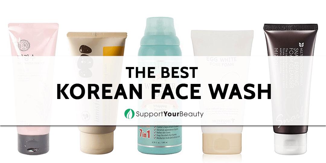 The Best Korean Face Wash