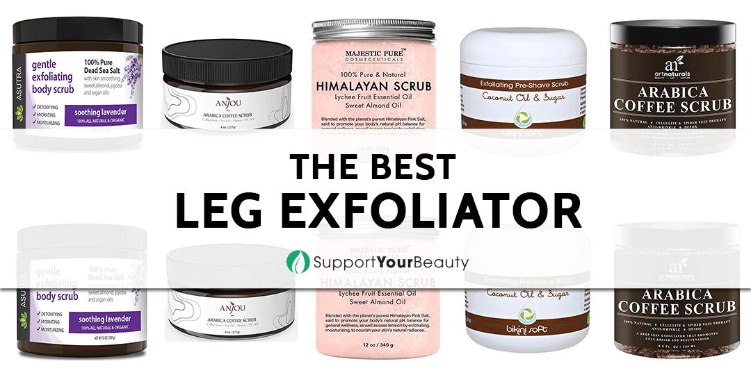 The Best Leg Exfoliator