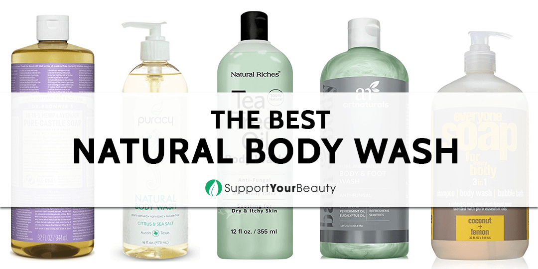 The Best Natural Body Wash