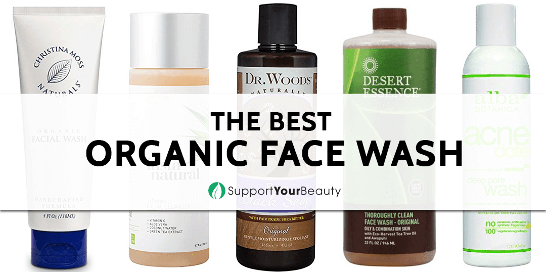 The Best Organic Face Wash