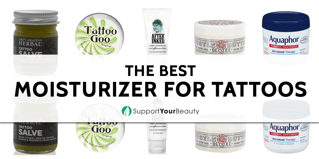 Best Moisturizers for Tattoos