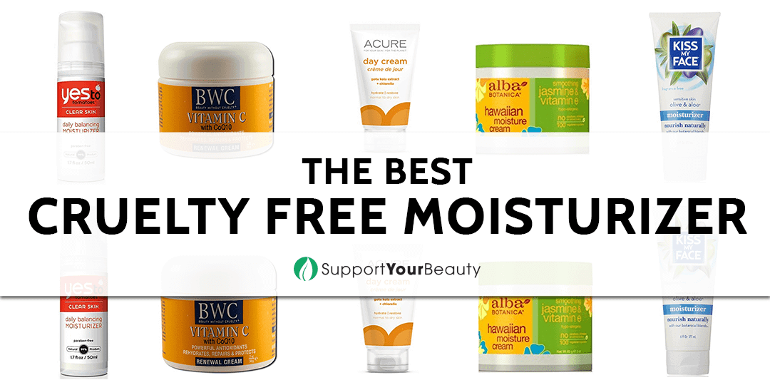 The Best Cruelty Free Moisturizer