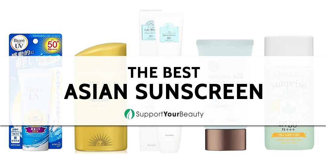 The Best Asian Sunscreen