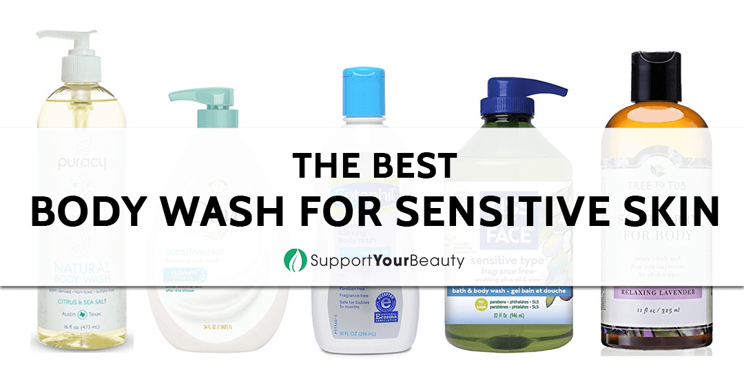 Best sensitive skin body wash