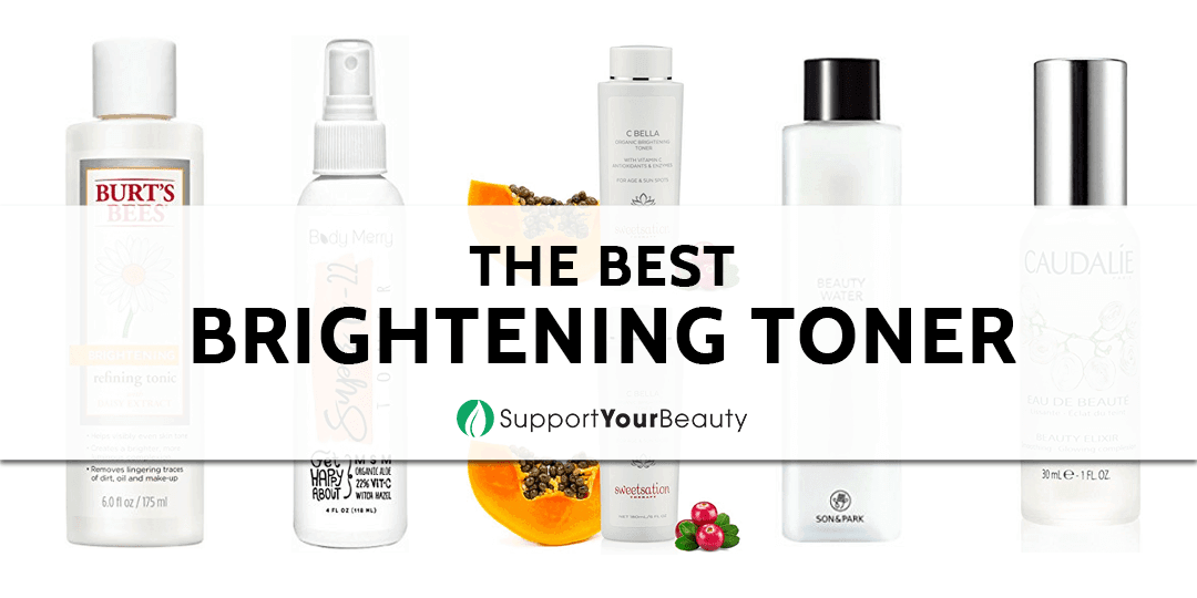 The Best Brightening Toner