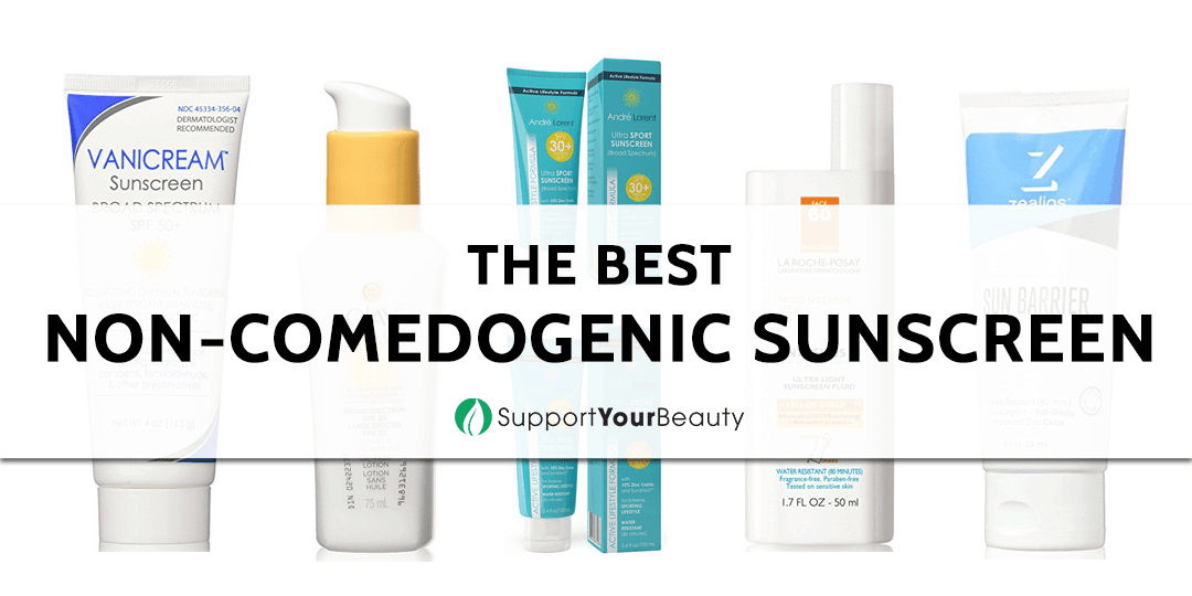 The Best Non-comedogenic Sunscreen
