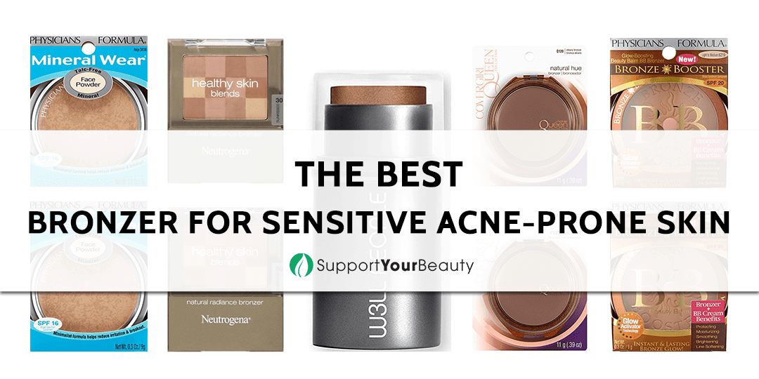 The Best Bronzer for Sensitive Acne-Prone Skin