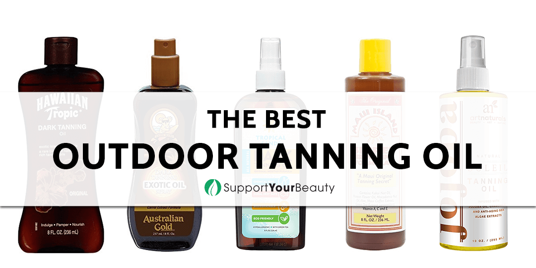 The Best Outdoor Tanning Oil