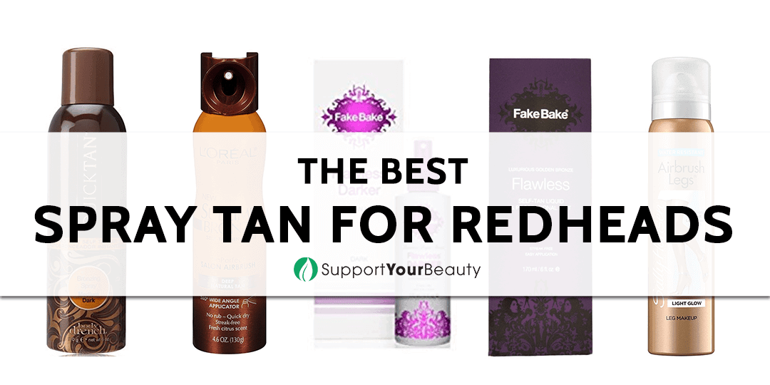 The Best Spray Tan for Redheads