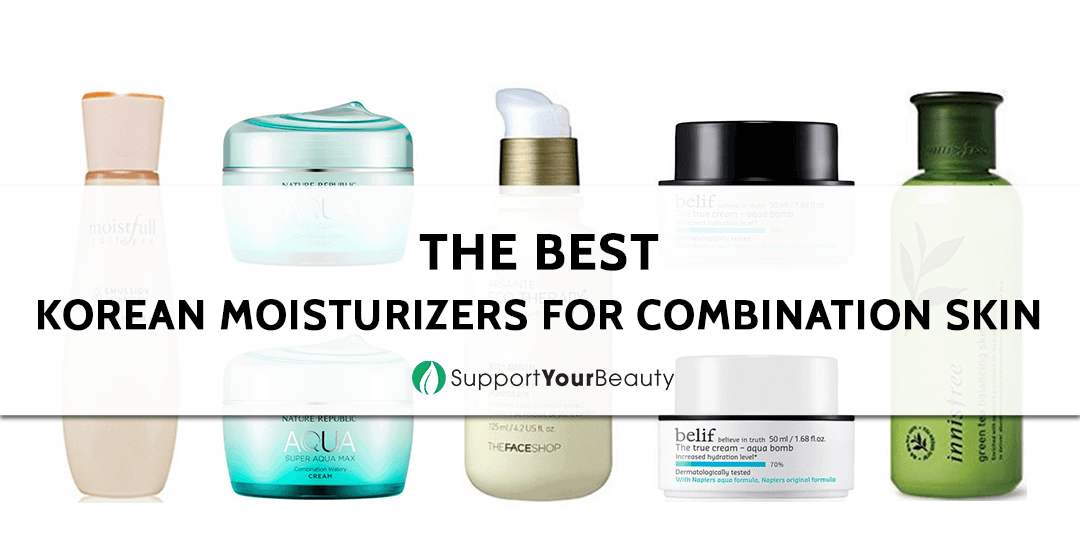 The Best Korean Moisturizers for Combination Skin