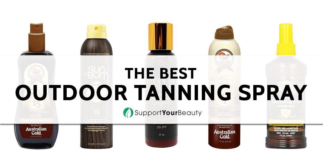The Best Outdoor Tanning Spray