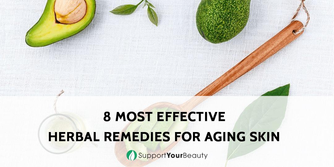 8 Herbal Remedies for Aging Skin
