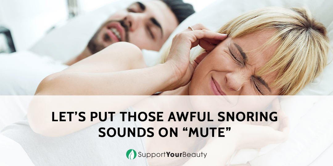 Put Those Awful Snoring Sounds on Mute