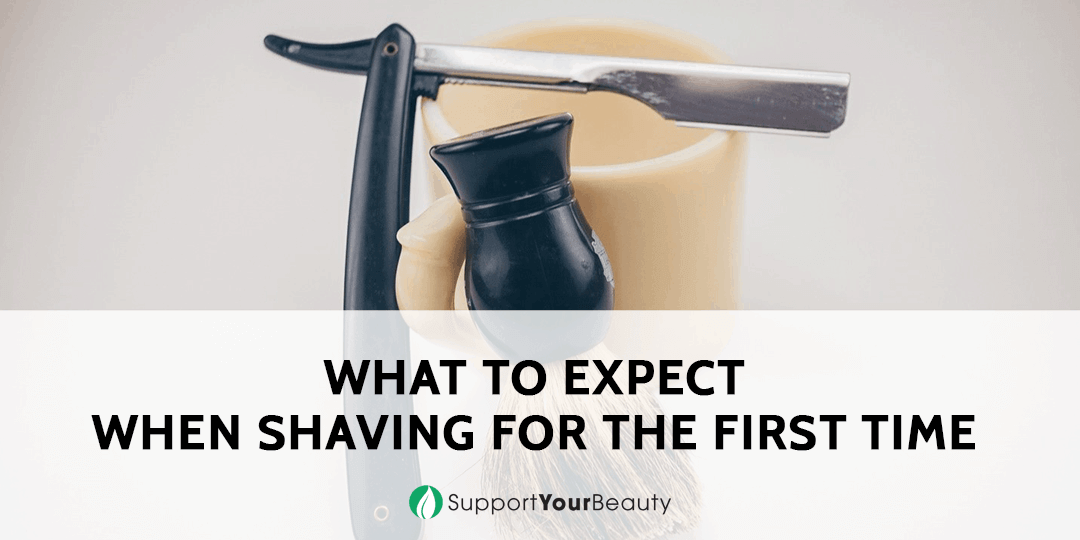 What To Expect When Shaving For The First Time