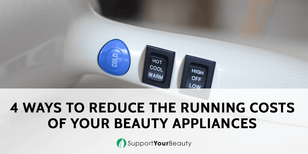 Running Costs of Your Beauty Appliances