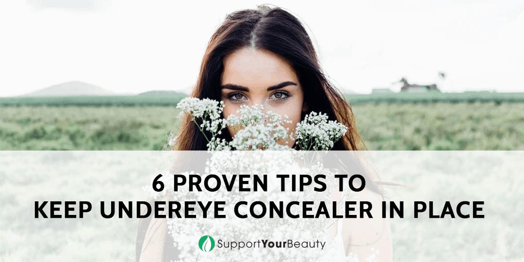 Keeping Under Eye Concealer In Place