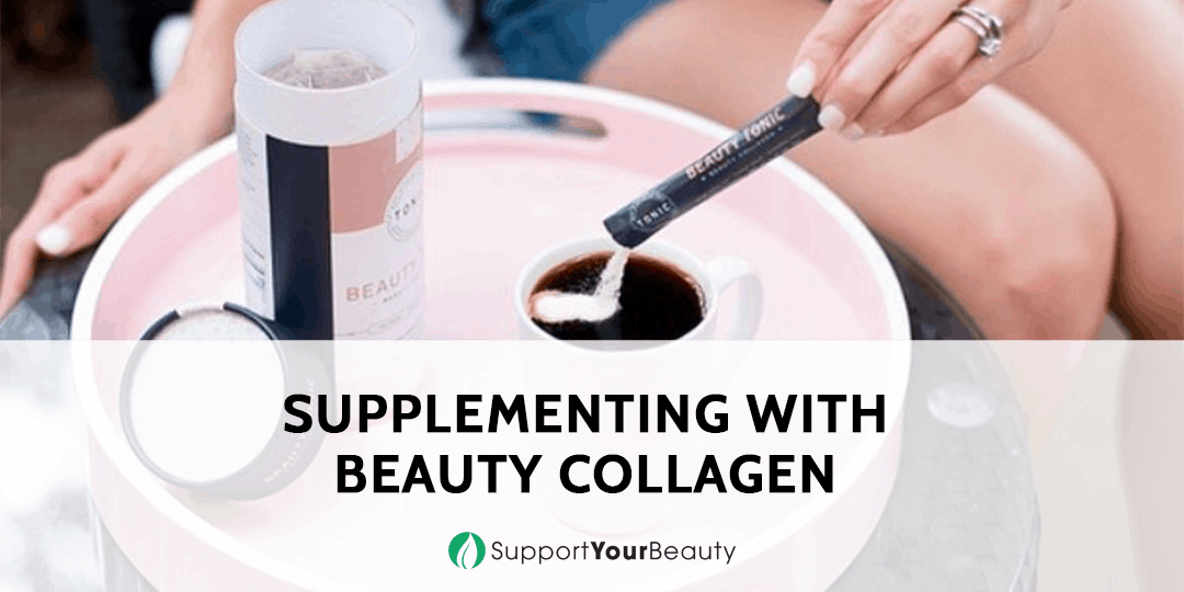 Supplementing with Beauty Collagen